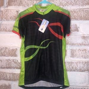 Bicidichi large jersey cycling cyclist shirt large
